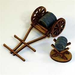 28mm Hand Drawn Water Cart and Jack