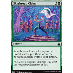 Magic löskort: Battlebond: Skyshroud Claim