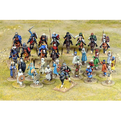 Saga Moor Starter Warband - 13 Mounted & 20 foot figures