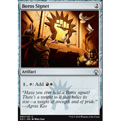 Magic löskort: Guild Kits: Boros Signet