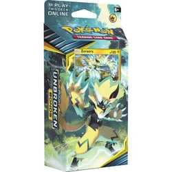 Pokemon TCG: Sun & Moon 10 Unbroken Bonds Theme Deck Zeraora