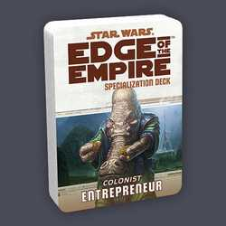 Star Wars: Edge of the Empire: Specialization Deck - Colonist Entrepreneur