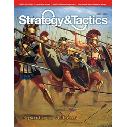 Strategy & Tactics: Issue 286, Athens and Sparta