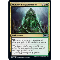 Magic löskort: Core Set 2020: Moldervine Reclamation
