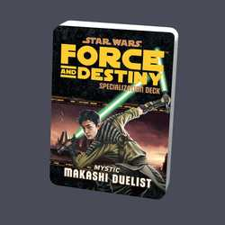 Star Wars: Force and Destiny: Specialization Deck Mystic Makashi Duelist