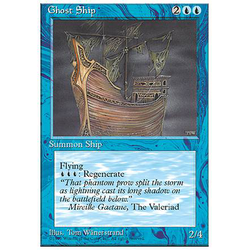 Magic löskort: 4th Edition: Ghost Ship