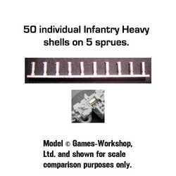 Secret Weapon: Spent Shell Casings - Infantry Heavy (50)