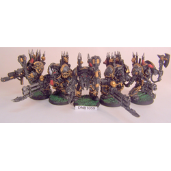 Chaos Space Marine Terminators (5st, Metall)