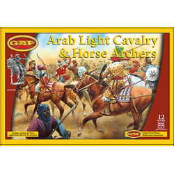 Arab Light Cavalry (12, Plastic)