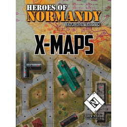 Lock 'n Load Tactical: Heroes of Normandy - X-Maps