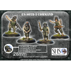 US Armoured Infantry Command Set (SHS) 4
