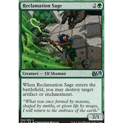 Magic löskort: M15: Reclamation Sage