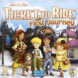 Ticket to Ride: First Journey (Europe) (sv. regler)