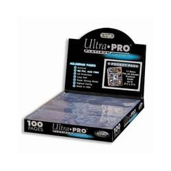 Ultra Pro 9-pocket Page (Platinum, 100st)