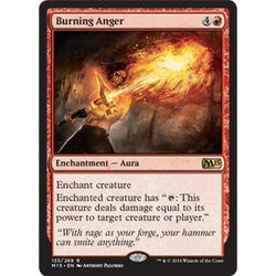 Magic löskort: M15:  Burning Anger