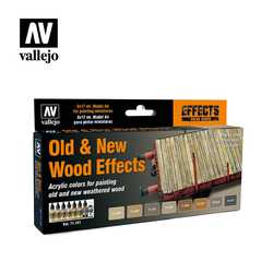 Vallejo Paint Set Old & New Wood Effects