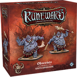 Runewars Miniatures Game: Uthuk Obscenes