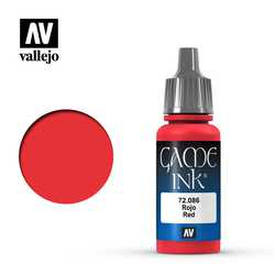 Vallejo Game Color: Red Ink
