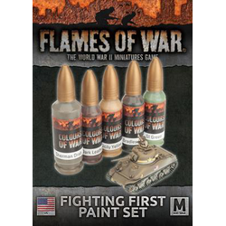 USA Fighting First Paint Set