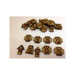 Bandua Accessories: Sci-Fi Infantry Tokens