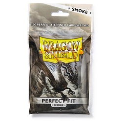Dragon Shield Sleeves - Perfect Fit Smoke (100)