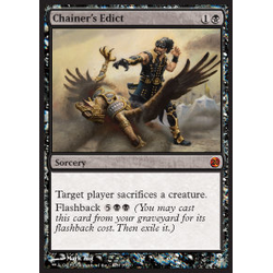 Magic löskort: From the Vault Twenty: Chainer's Edict (Foil)
