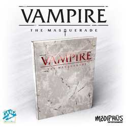 Vampire: The Masquerade (5th ed) - Core Rulebook (deluxe ed)