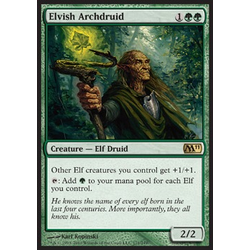 Magic Löskort: Core Set 2011 (M11): Elvish Archdruid