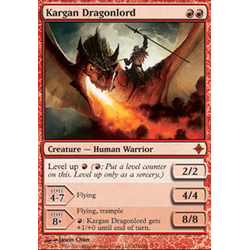 Magic löskort: Rise of the Eldrazi: Kargan Dragonlord