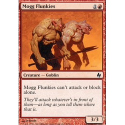 Magic Löskort: Premium Deck - Fire and Lightning: Mogg Flunkies (Foil)