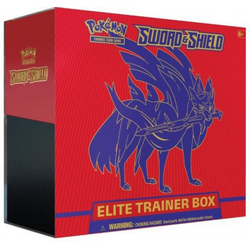 Pokemon TCG: Sword & Shield Elite Trainer Box (Red)