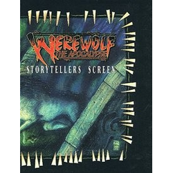 Werewolf: The Apocalypse: Storyteller's Screen (Begagnad) )