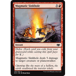 Magic löskort: Modern Horizons: Magmatic Sinkhole