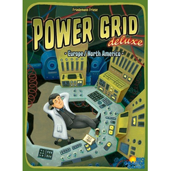 Power Grid Deluxe: Europe/North America (eng. regler)