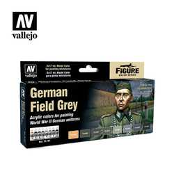 Vallejo Paint Set German Field Grey