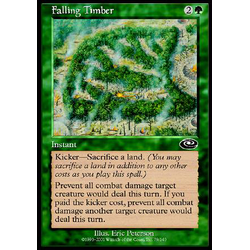 Magic löskort: Planeshift: Falling Timber (Foil)