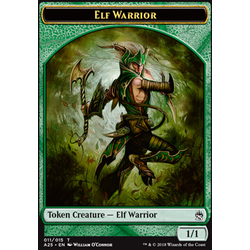 Magic löskort: Masters 25: Elf Warrior Token