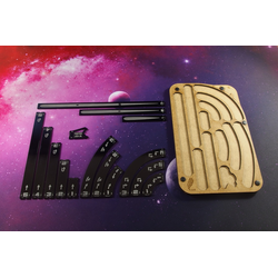 Space Fighter Manouver Tray 1.0 (black)