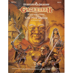D&D Gazetteer: GAZ8, The Five Shires (1988)