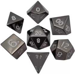 Metallic Dice: Sterling Gray (Solid Metall)