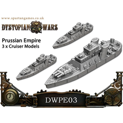 Prussian Empire Reiver Class Cruisers (3)