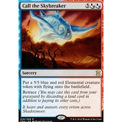 Magic löskort: Eternal Masters: Call the Skybreaker (Foil)