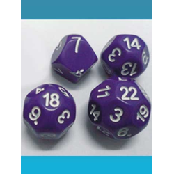 Impact Dice D7 - Purple