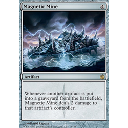 Magic löskort: Mirrodin Besieged: Magnetic Mine
