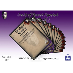 The Cult of Yurei: Card Pack 1