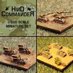 Hind Commander: US Artillery pack 1