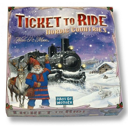 Ticket to Ride Nordic Countries (Eng. regler)