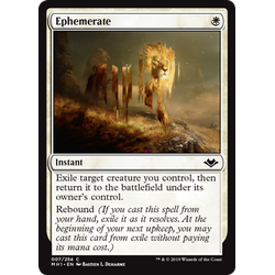 Magic löskort: Modern Horizons: Ephemerate