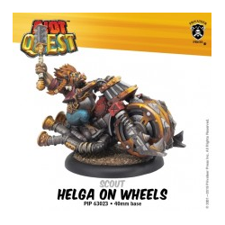 Riot Quest: Helga on Wheels