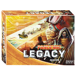 Pandemic Legacy: Season 2 - Yellow